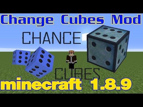 minecraft mod รีวิว Change Cubes Mod 1.8.9 (ฉบับละคร)   ลุงว้อบเมเปิ้ล