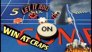 Craps Strategy - THE PICK 3 PRESS - Easy strategy to try to win at craps!