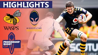 Wasps v Worcester - HIGHLIGHTS | Marcus Watson Bags a Hat-trick! | Premiership Cup 2019/20
