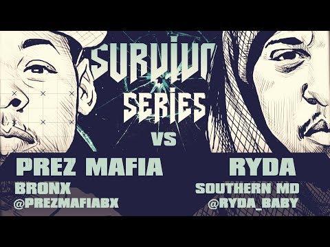 RYDA VS PREZ MAFIA SMACK/ URL RAP BATTLE