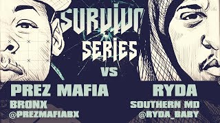 RYDA VS PREZ MAFIA SMACK/ URL RAP BATTLE | URLTV