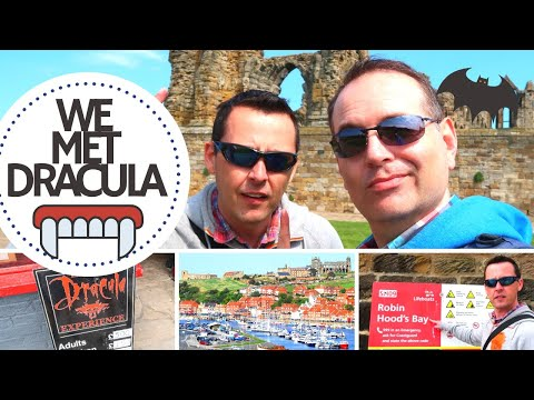 A DAY OUT IN WHITBY TOUR | BRAM STOKERS DRACULA | VLOG | THE LODGE GUYS