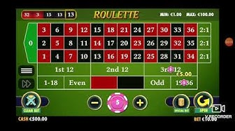 ONLINE REAL MONEY ROULETTE