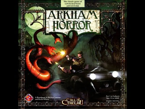 Настольная игра Ужас Аркхэма (Arkham Horror). Часть 1. Расклад игры