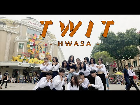 [KPOP IN PUBLIC CHALLENGE] 화사 (HWASA) - 멍청이(TWIT) Dance Cover By YB Crew From Vietnam