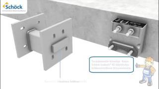 Schöck Isokorb® T tyyppi SK (KS): Katkaise kylmäsillat betonirakenteiden ja teräsulokkeiden välillä