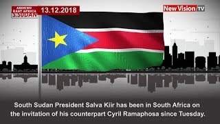 Around East Africa: South Sudan's Salva Kiir on a state visit in South Africa