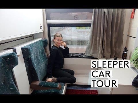 SOFIA TO ISTANBUL BY TRAIN - SLEEPER CAR TOUR