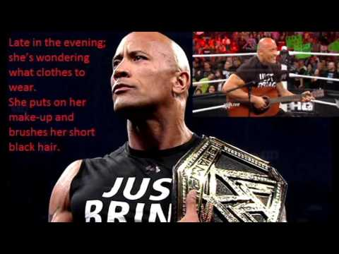 The Rock sings to Vickie Guerrero lyrics