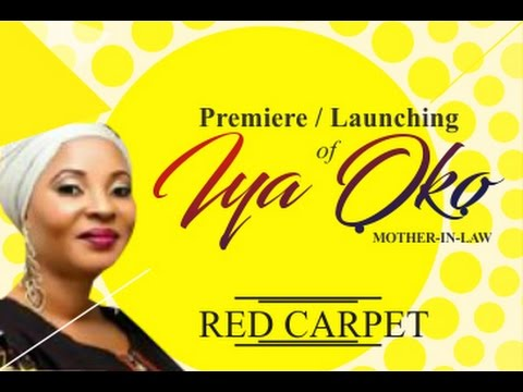 IYA OKO- MOVIE PREMIERE RED CARPET