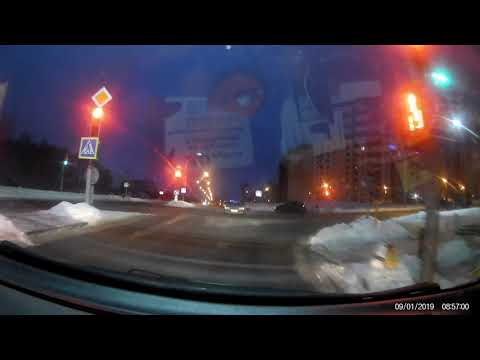 ДТП Новополоцк пересечение улиц Я.Колоса - Василевцы 09.01.2019