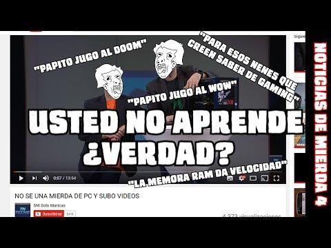 NOTICIAS DE MIERDA 4 - CUANDO NO SABES NADA DE PC Y SALÍS EN TELEVISIÓN - FAIL CÓSMICO