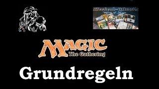 MAGIC: The Gathering - Tut๐rial Grundregeln / Basics / How to play (deutsch)
