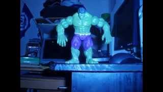 Hulk vs Abomination - El baile de la muerte!!! (Stop Motion)