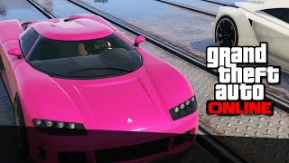 FINAL DE PELICULA  - GTA Online Carreras con Willy y Luzu