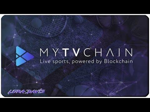 Обзор проекта My TV Chain – спортивной блокчейн платформы