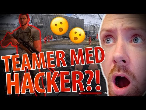 TEAMER MED EN HACKER?! @ H1Z1 Highlights #2