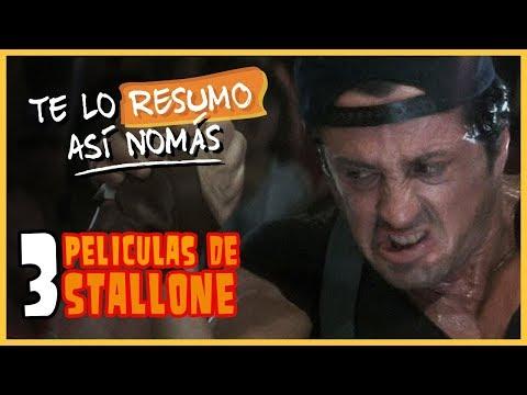 Te Lo Resumo | 3 Películas de Stallone Así Nomás
