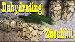 Dehydrating Zucchini ~ Preserving the Harvest ~ Super Easy Self Reliance