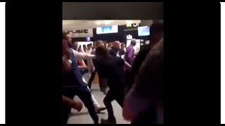 UFC 229 драка фанатов конора и хабиба HD