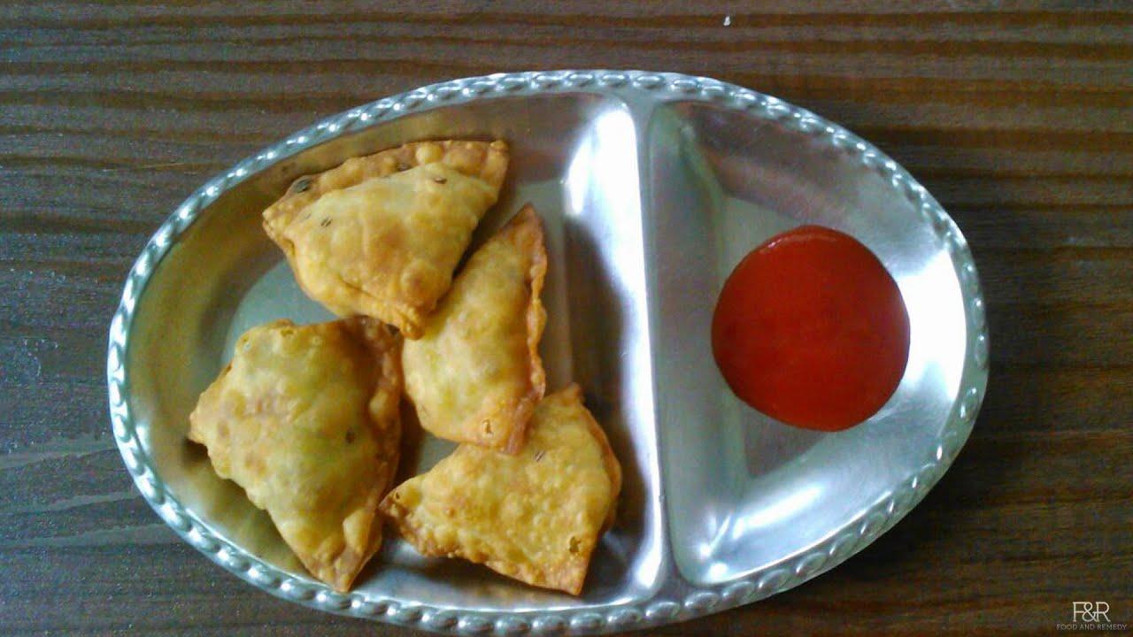 Samosa recipe easy snacks kannada recipes youtube forumfinder Images