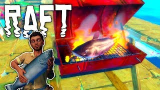 Raft #14 | Stachelwels grillen | Gameplay German Deutsch thumbnail