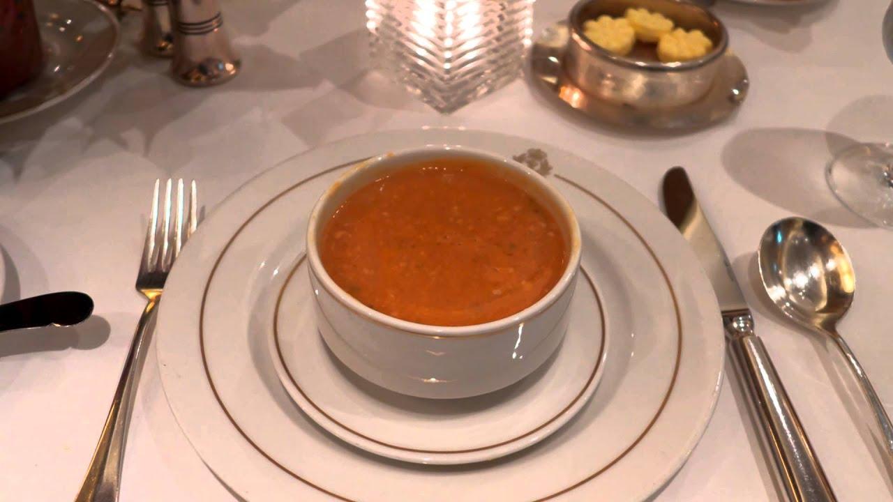 Britannia Restaurant Queen Elizabeth Menu
