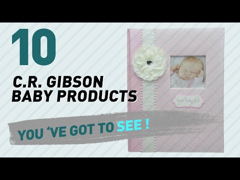 C.R. Gibson Baby Products Video Collection // New & Popular 2017