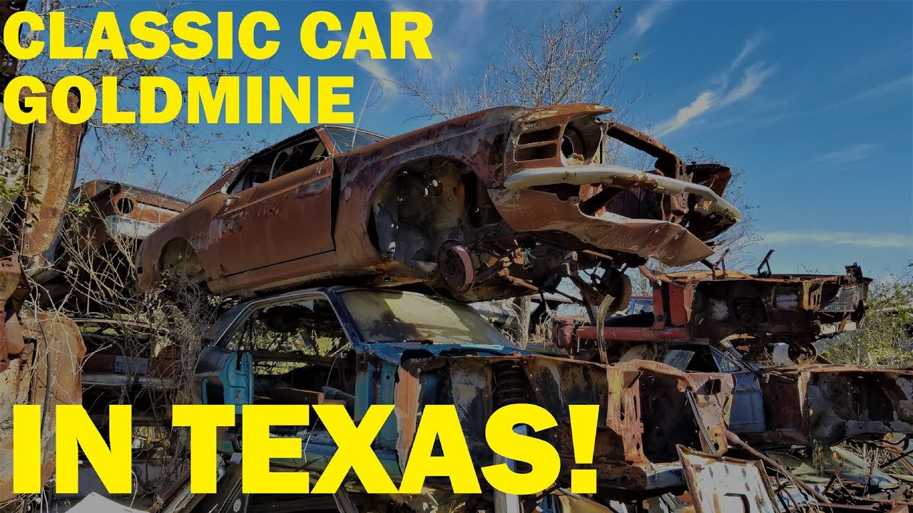 Salvage Yards Tyler Tx >> Exploring A Classic Car Goldmine In Texas Johns Salvage Part 1