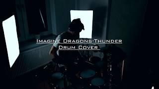 Video Imagine Dragons - Thunder ( Drum Cover) download MP3, 3GP, MP4, WEBM, AVI, FLV Oktober 2017