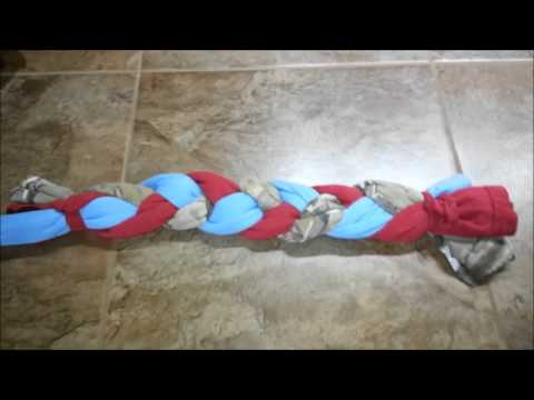 EASY DIY DOG TOYS! Make Your Own Dog Toys. Pitbull approved!