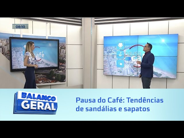 Pausa do Café: Tendências de sandálias e sapatos