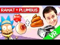 RAHAT + Plumbus = ? Rick si Morty VR ! (HTC VIVE) SPECIAL!