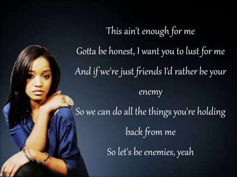 Keke Palmer - Enemiez Ft. Jeremih (Lyrics)