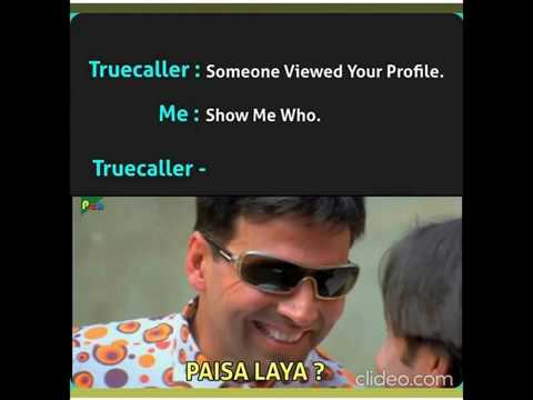 Funnymeme Funnymemes Truecaller Someone Viewed Your Profile