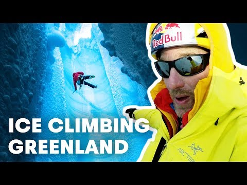 Will Gadd Descends Deep Into the Greenland Ice Cap for Climate Science
