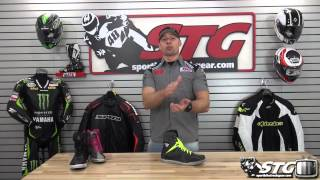 TCX X-Rap Waterproof Riding Boot Review from SportbikeTrackGear.com