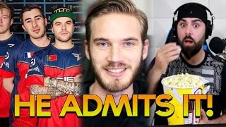 youtuber admits it faze member kicked pewdiepie vs keemstar prankster exposed or not