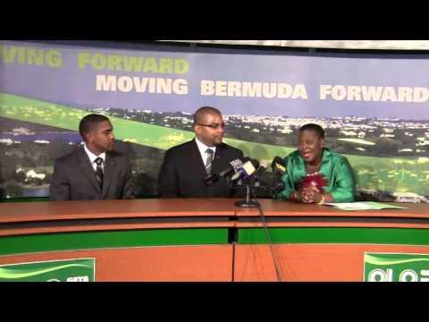 PLP Announce Candidate Diallo Rabain Bermuda December 5 2011