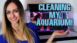 Cleaning My Aquarium Tank! Thumbnail