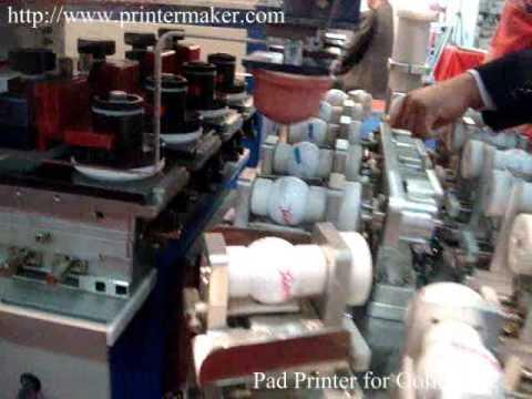 golf ball pad printing machine pad printer automatic pad printer automatic  pad printing machine