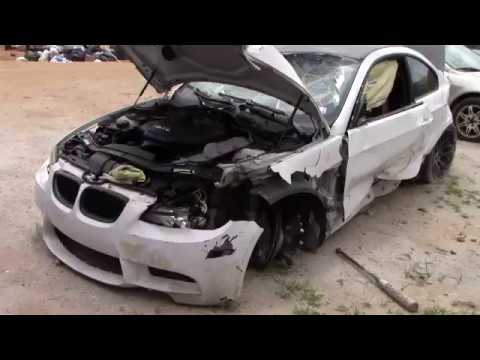 the wrecked bmw m3 youtube