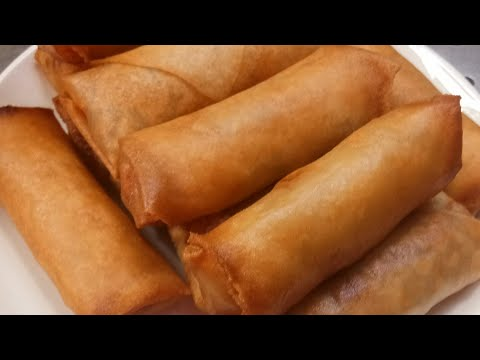 ปอเปี๊ยะทอดเจ สอนทำอาหารไทย by แม่โอ๋