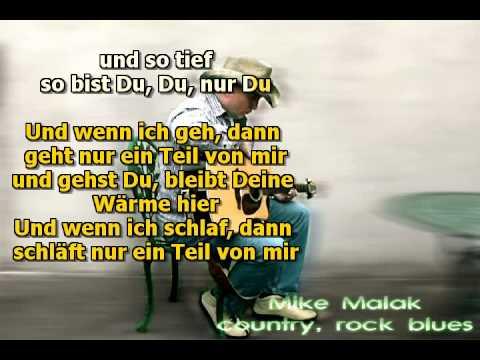 Mike Malak So Bist Du P Maffay Cover Lyrics Youtube