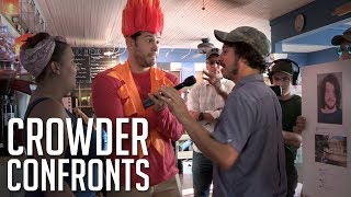 CROWDER CONFRONTS: Convicted Antifa Thug! | Louder with Crowder