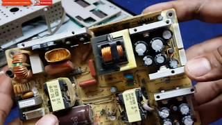 FALLA EN PANTALLA CHINA QUE NO ENCIENDE SOLO LUZ ROJA electrónica nuñez