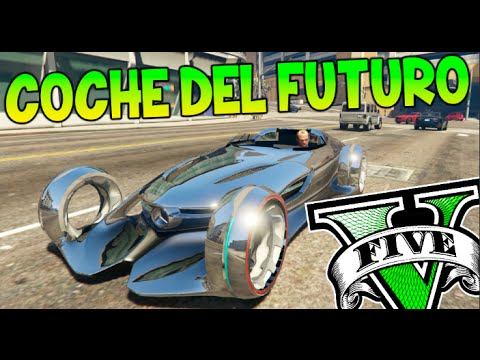GTA V MODS EL COCHE DEL FUTURO !! MERCEDES BENZ SILVER LIGHNING GTA 5 MOD PC Makiman - YouTube