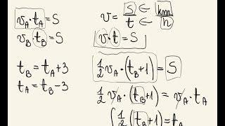 Matura - zadania z prędkościami za 4-5 pkt - metodyka rozwiązywania