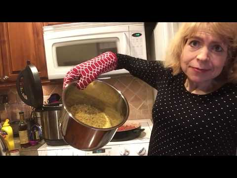 Foodie Friday! Instant Pot Vegan Sloppy Joe Lentils