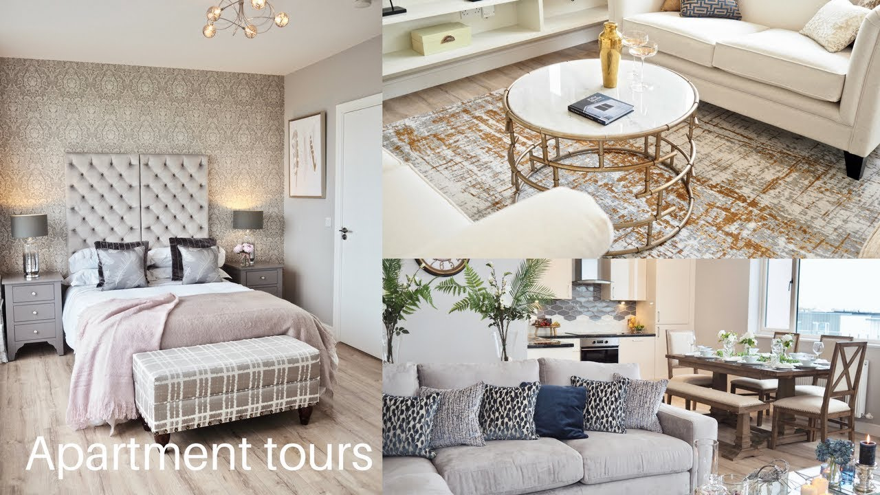 Apartment Tour, inside two stunning show home apartments - YouTube